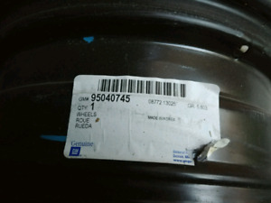 4 steel wheels for Chevy Sonic 2012 2013 2014 2015 2016