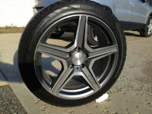 Winter tires and rims FOR SALE! Set of 4 rims and tires