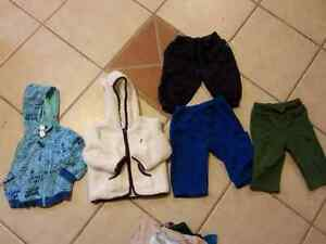 assorted clothes 6-12 months