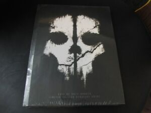 Call of Duty Ghosts Hard Copy New Limited Edition Strategy Guide
