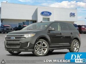 2014 Ford Edge Sport w/ Low Mileage, Leather, Moonroof, Nav!