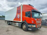 Scania P-SRS D-CLASS p230-18 18 ton gross fridge tailift 712k klms MANUALGBX