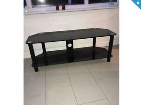 Black Glass TV stand unit