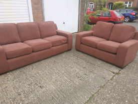 Beautiful 3+2 seater sofas, local delivery possible