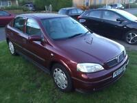 2003 Vauxhall/Opel Astra 1.6i 2003MY Club + Long MOT and Drvies Fine