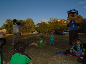 Paw Patrols Story Time with Chase PJ Party in Park WELLAND