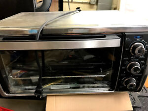 Black & Decker Stainless Steel Convection Toaster Oven