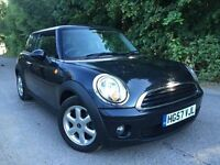 Mini one 1.4 automatic in metallic black
