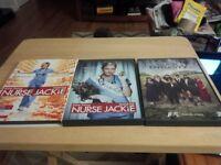 Nurse Jackie and Duck Dynasty box sets