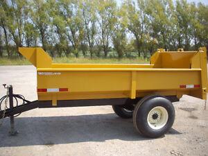 4 ton off road Farm/Construction Dump trailer London Ontario image 3