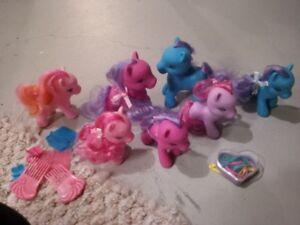 Pony toy lot