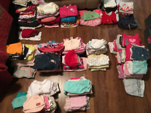 Baby Clothes - Girl (200 Pieces) - 150 ONO