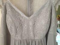 Beautiful silver wedding/bridesmaid/ball dress. Size 24