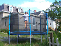 Jump all over this awesome trampoline deal!