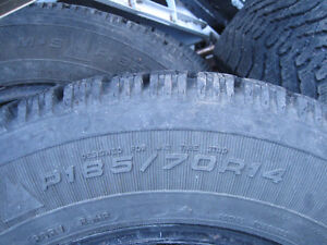 Goodyear 185-70-14 Winter tires