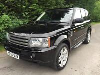 55 REG - LAND ROVER RANGE ROVER SPORT 4.4 V8 HSE AUTOMATIC 4X4