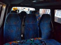 Toyota hiace seats with seat belts