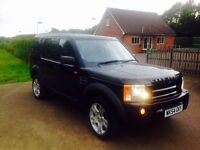 Land Rover discovery 3 HSE part exchange welcome