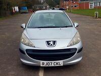 2007 Peugeot 207 1.6 hdi £39 RoadTax Cheap and Reliable