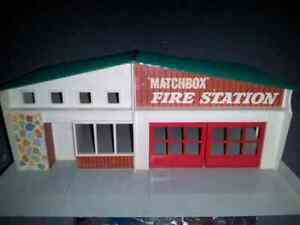 Hotwheels  and Matchbox fire station