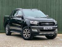 2018 Ford Ranger 3.2 TDCi Wildtrak Double Cab Pickup Auto 4WD 4dr Pickup DoubleC