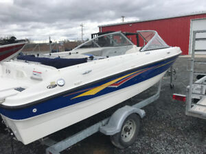 2007 BAYLINER 185 BOWRIDER GREAT SHAPE