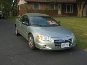 2004 Chrysler Sebring For Sale