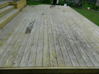 Deck and Fence Staining! Early Bird Special!
