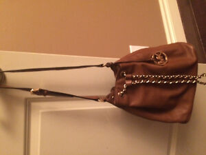 Like New! MICHAEL KORS Brown Leather Bucket Bag