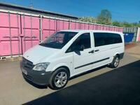 Mercedes-Benz Vito113cdi LWB 8seater 62reg for sale