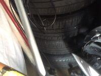 VW 4xwheel with tyres polo golf
