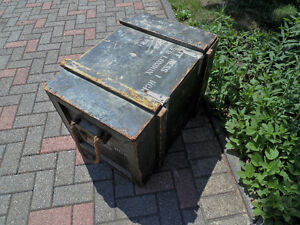 Army box. Military box, Soldiers tote, Army storage box London Ontario image 5