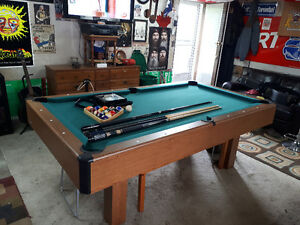 almost 4 X 8 pool tabe