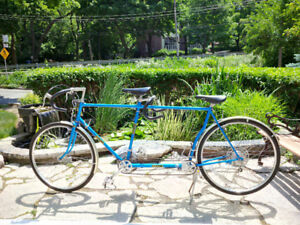 Classic Gitane tandem bicycle, made in France, perfect condition