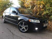 2011/61 Volvo S40 2.0 SE, Black, Full Leather, 1 Owner, Service History
