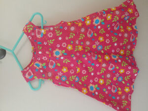 new and like new girls dresses size 12-18m