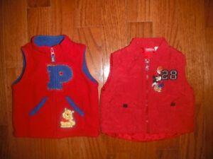 toddler 6-12m Winter vest -- Disney
