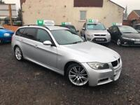 2008 57 BMW 320D 2.0TD M SPORT TOURING 5 DOOR ESTATE FSH 2 KEYS PARKING SENSORS