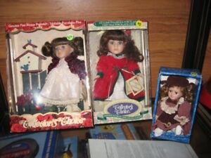 PORCELAIN DOLLS 3--MAKE GREAT PRESENTS