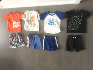3T toddler boy - summer clothes  $5 per outfit