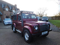 2000 W Reg Land Rover Defender 90 County CSW 2.5 Td5 75000 Miles !!