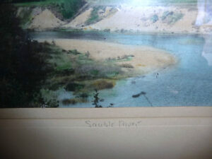 "Hugh Cummings ""Sauble River"" 1900's Hand Colored Photograph Stratford Kitchener Area image 7"