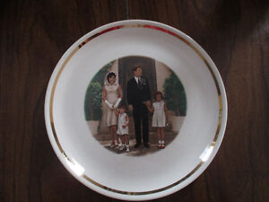 President John F Kennedy and Family plate Kitchener / Waterloo Kitchener Area image 2