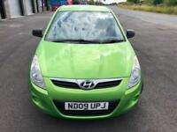 HYUNDAI i20 1.2 CLASSIC £21 WEEK NO DEPOSIT GREAT 1ST CAR CD/MP3 A/C 3DR 2009