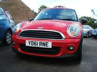 2011 61 Mini 1.6 First 3d **46,000 miles / NEW MOT**