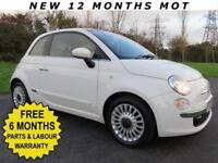 2011 LOVELY LITTLE FIAT 500 ** 1,2 LOUNGE EDITION ** GLASS ROOF ** FULL LEATHER