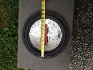 "11"" X Thunder Subwoofer in box mount"