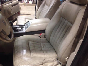 Tan Leather Seats for 03-06 Lincoln Navigator / Ford Expedition