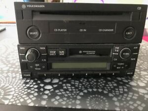 2001 VW Golf Car Stereo and CD Player