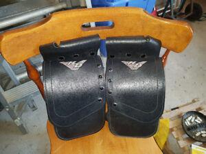 Harley leather  touring rear crash bar bags
